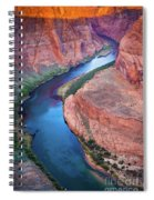 Colorado River Bend Spiral Notebook