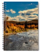 Colorado River In Autumn Spiral Notebook