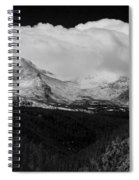 Colorado Rocky Mountains Continental Divide Spiral Notebook