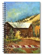 Colorado Shed Spiral Notebook