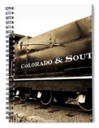 Colorado Southern Railroad 1 Spiral Notebook