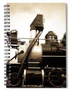 Colorado Southern Railroad 3 Spiral Notebook