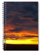 Colorado Sunrise February Spiral Notebook