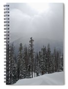 Colorado Winter Peace Spiral Notebook