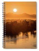 Coloradoriversunrise-yuma Spiral Notebook