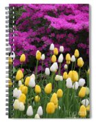 Colorful Spring Spiral Notebook