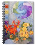 Colordance Of Summer Spiral Notebook