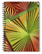 Colored Box Abstract Spiral Notebook