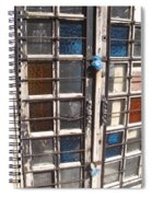 Colored Door Spiral Notebook
