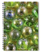 Colored Marbles Spiral Notebook