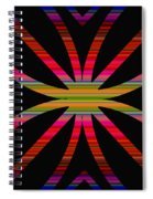 Colorful Abstract 11 Spiral Notebook