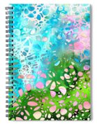 Colorful Art - Enchanting Spring - Sharon Cummings Spiral Notebook