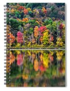 Colorful Autumn Reflections Spiral Notebook