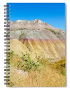 Colorful Badlands Of South Dakota Spiral Notebook