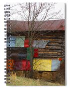 Colorful Barn Spiral Notebook