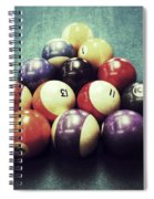 Colorful Billiard Balls Spiral Notebook