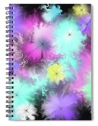 Colorful Blobs Spiral Notebook