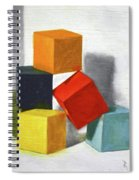 Colorful Blocks Spiral Notebook