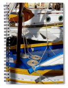 Colorful Boats Spiral Notebook
