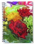 Colorful Bouquet Spiral Notebook