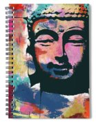 Colorful Buddha 2- Art By Linda Woods Spiral Notebook