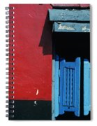 Colorful Caribbean Door Spiral Notebook