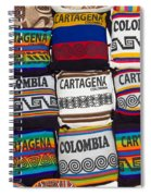Colorful Cartagena Spiral Notebook
