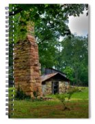 Colorful Chimney Spiral Notebook