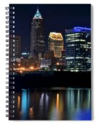Colorful Cleveland Spiral Notebook