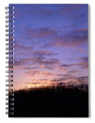 Colorful Clouds In The Sky Spiral Notebook