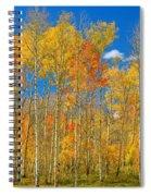 Colorful Colorado Autumn Landscape Spiral Notebook