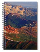 Colorful Colorado Planet Earth Spiral Notebook