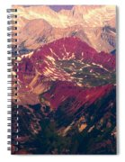 Colorful Colorado Rocky Mountains Spiral Notebook