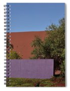 Colorful Commercial Building Exterior Spiral Notebook