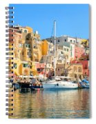 Colorful Corricella Spiral Notebook