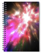 Colorful Cosmos Spiral Notebook