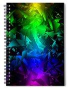 Colorful Crash 6 Spiral Notebook