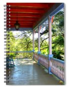 Colorful Creole Porch Spiral Notebook