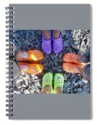 Colorful Crocs Spiral Notebook
