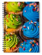 Colorful Cupcake Spiral Notebook