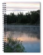 Colorful Dawn Reflections Spiral Notebook