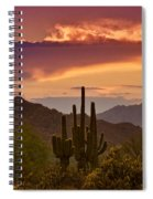 Colorful Desert Skies  Spiral Notebook