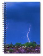 Colorful Desert Storm Spiral Notebook