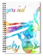 Colorful Dirty Harry Spiral Notebook