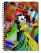 Colorful Dolls Spiral Notebook