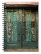 Colorful Doors Antigua Guatemala Spiral Notebook