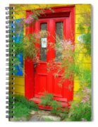 Colorful Entrance ... Spiral Notebook
