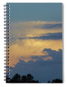 Colorful Evening Sky Spiral Notebook