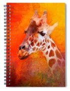 Colorful Expressions Giraffe Spiral Notebook
