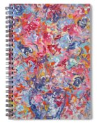 Colorful Floral Bouquet. Spiral Notebook